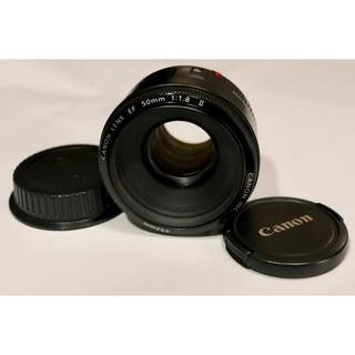 キヤノン(Canon)のCanon EF 50mm  F1.8 ⅱ(レンズ(単焦点))