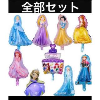 ディズニー(Disney)の新品 風船 バースデー バルーン ディズニー プリンセス 誕生日 アリエル 姫(ウェルカムボード)