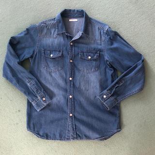 GU - デニムシャツ150