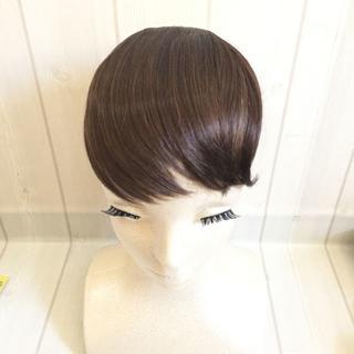 前髪ウィッグ ライトマロン(前髪ウィッグ)