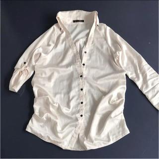 グラマラスガーデン(GLAMOROUS GARDEN)のグラマラスガーデン♡ゆったりタックデザインシャツ(シャツ/ブラウス(長袖/七分))