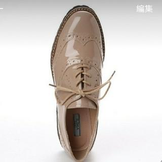 イーボル(EVOL)のイーボル EVOL ウイングチップ オックスフォード(ローファー/革靴)