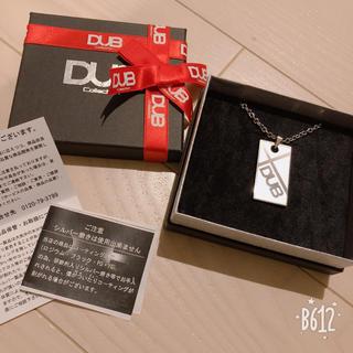 ダブコレクション(DUB Collection)のほぼ新品♡ DUB プレート ネックレス ◡̈♪ プレゼントにも🌟(ネックレス)