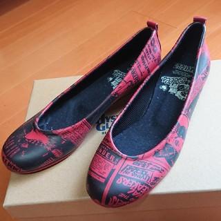 ヒステリックグラマー赤シューズ(ローファー/革靴)