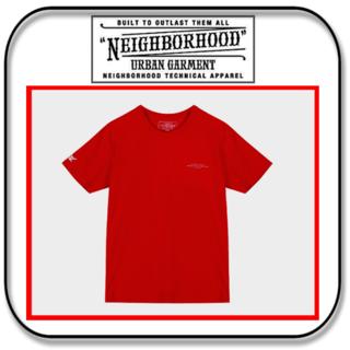 ネイバーフッド(NEIGHBORHOOD)のネイバーフッド  半袖 Tシャツ レッド - OG T - 「M」 (Tシャツ/カットソー(半袖/袖なし))