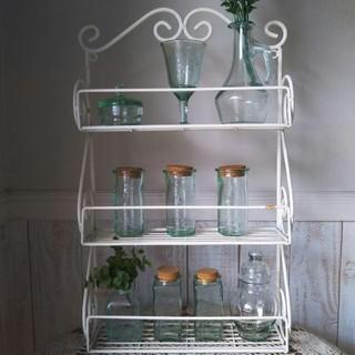 アンティーク風ガラス瓶10点セット(ガラス)