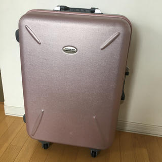 アメリカンツーリスター(American Touristor)の傷あり キャリーケース  ピンクゴールド L(スーツケース/キャリーバッグ)