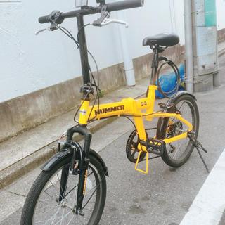 ハマー(HUMMER)の折りたたみ 自転車 HUMMER(自転車本体)