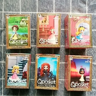 Disney - ディズニーキャラクターズ Qposket petit 6点セット