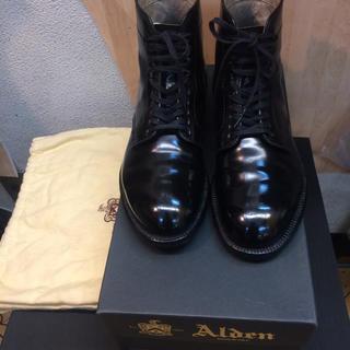 オールデン(Alden)のだ様専用オールデン コードバン  4562H 6 1/2D(ブーツ)