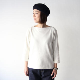 ヤエカ(YAECA)のYAECA バスクシャツ(カットソー(長袖/七分))