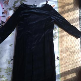クリスチャンオジャール(CHRISTIAN AUJARD)のベルベット調ドレスワンピース(その他ドレス)