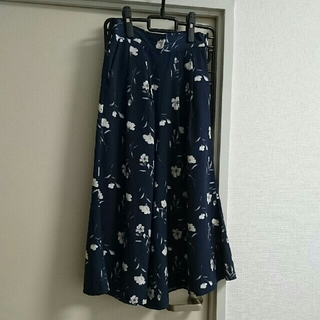 シマムラ(しまむら)の花柄 ガウチョパンツ(その他)