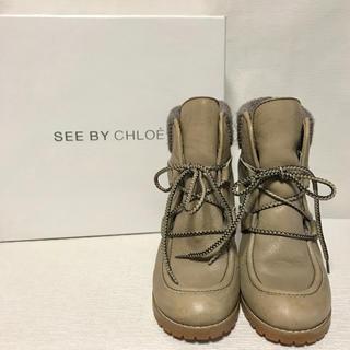 シーバイクロエ(SEE BY CHLOE)のSEE BY CHLOE ショートブーツ(ブーツ)