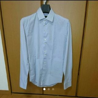 ザラ(ZARA)のZARA メンズスリムフィットシャツ Sサイズ(シャツ)