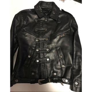 ジョンソンズ(JOHNSONS)のJOHNSONS LA ROCKA復刻biker jacket(ライダースジャケット)