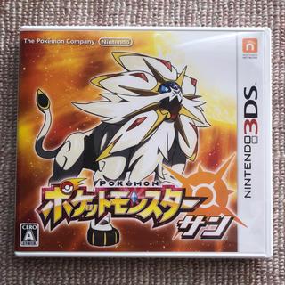 ポケモン - ポケモン サンムーン 3DS ゲームソフト ポケットモンスター