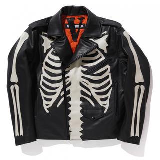 ネイバーフッド(NEIGHBORHOOD)のVlone x Neighborhood Leather Jacket L(レザージャケット)