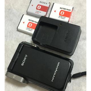ソニー(SONY)のSONY HDR-GW77V ビデオカメラ ブラック (ビデオカメラ)