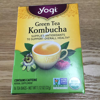 ヨギティー コンブチャ 1箱(16袋 )yogi tea kombucha(茶)