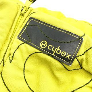 サイベックス(cybex)の美品 cybex サイベックス 抱っこ紐 赤ちゃん ベビー 黄緑(抱っこひも/おんぶひも)