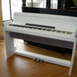 コルグ(KORG)のKORG(コルグ)電子ピアノ LP-350 ホワイト 椅子&ヘッドホン付き(電子ピアノ)