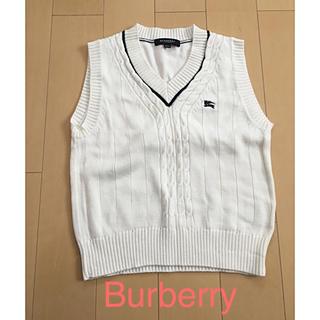 バーバリー(BURBERRY)のお値下げ☆ BURBERRY  シンプルベスト(ドレス/フォーマル)