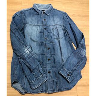 イーブス(YEVS)のデニムシャツ メンズ Mサイズ YEVS(Gジャン/デニムジャケット)