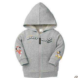 ディズニー(Disney)の新品 ミッキーマウス パーカー 90cm(ジャケット/上着)
