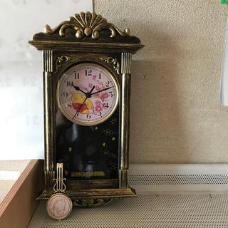 ディズニー(Disney)のプーさんの掛け時計(掛時計/柱時計)
