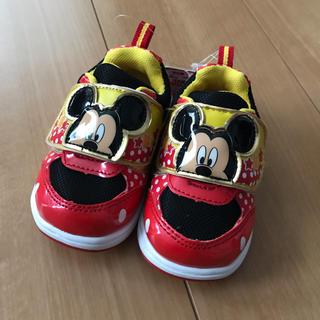 ディズニー(Disney)のミッキー スニーカー 14.0cm(スニーカー)
