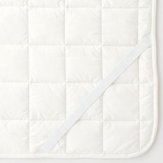 ムジルシリョウヒン(MUJI (無印良品))の無印良品 ウールわたベッドパッド・ゴム付 シングル (シーツ/カバー)