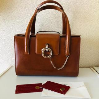 a7a429c3da8e カルティエ(Cartier)のカルティエ パンテール ハンドバッグ ギャランティカード付き Cartier(ハンドバッグ)