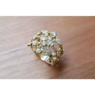 K18 AbHeri ダイヤモンド 0.63ct リング アベリ yoshino(リング(指輪))