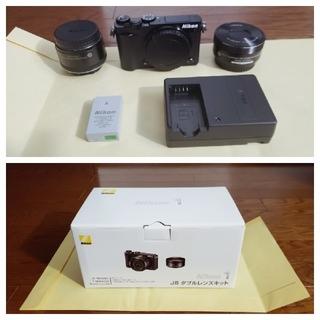 ニコン(Nikon)のNikon 1 J5 ダブルレンズキット(ミラーレス一眼)