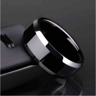 チタンブラックリング (ブラック) (リング(指輪))