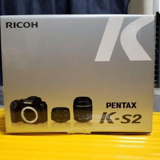 PENTAX - PENTAX K-S2 ダブルズームキット ホワイト 値下げ
