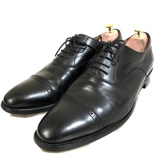 クロケットアンドジョーンズ(Crockett&Jones)のスコッチグレイン  ストレートチップ 27cm ビジネスシューズ  革靴 本革(ドレス/ビジネス)