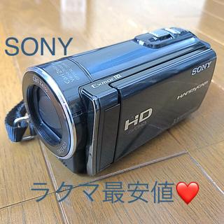 ソニー(SONY)の美品!ソニー ビデオカメラ ハンディカム(ビデオカメラ)