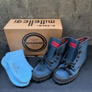 キャラバン(Caravan)のトレッキングシューズ 登山靴 キャラバン 23.5cm 新品未使用(登山用品)
