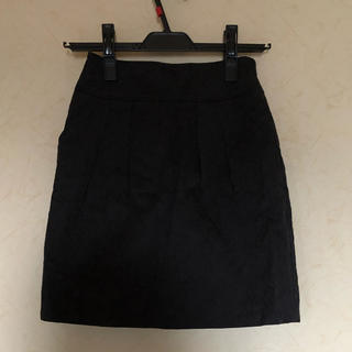 アールユー(RU)のRU花柄スカート(ひざ丈スカート)