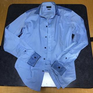 ザラ(ZARA)のZARA ストライプシャツ スリムフィット(シャツ)