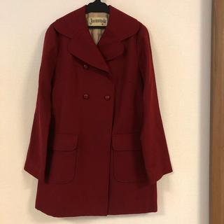 ホコモモラ(Jocomomola)のホコモモラ  シビラ 深い赤のコート(ピーコート)