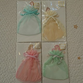 ディズニー(Disney)のディズニー プリンセス オーガンジー カード ドレス ハニカム(キャラクターグッズ)