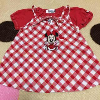 ディズニー(Disney)のミニーちゃんセット80(Tシャツ)