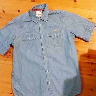 ロイヤルパーティー(ROYAL PARTY)のROIAL デニム半袖シャツ ブランド(Tシャツ/カットソー(半袖/袖なし))
