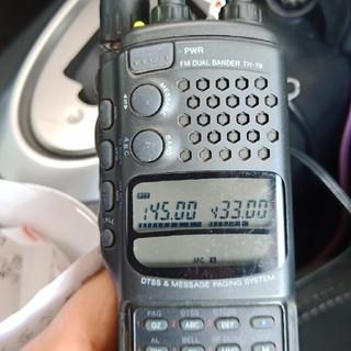 ケンウッド(KENWOOD)のジャンク KENWOOD  TH-78 144/430MHzデュアルハンディー機(アマチュア無線)