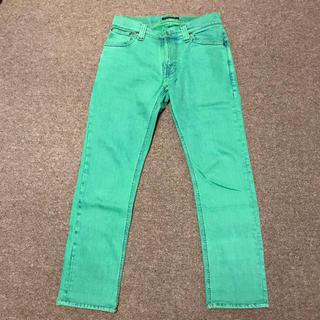ヌーディジーンズ(Nudie Jeans)のNudie Jeans【THIN FINN/グリーン】(デニム/ジーンズ)