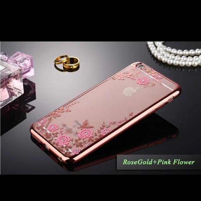 burberry iphonexr ケース シリコン | ❤️最新の花メッキTpu ケースiphon8クリスタルバックカバー❤️の通販 by マオちゃんs'store|ラクマ
