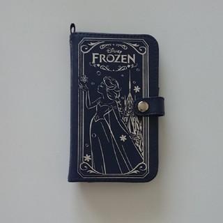 ディズニー(Disney)のアナと雪の女王全機種対応手帳型ケース(スマホケース)